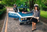 FIAT 125p MILICJA - wynajem na śluby, imprezy itp Zamość