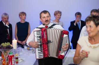 Jacek z akordeonem Żnin