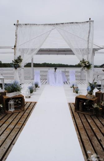 Ślub w plenerze - aranżacja  Załakowo