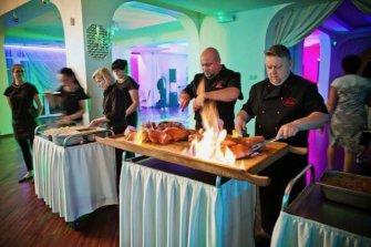 Atrakcja kulinarna wesela w Villa RoMa  Gałków Mały