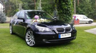 Auto do ślubu na wesele Puławy okolice BMW