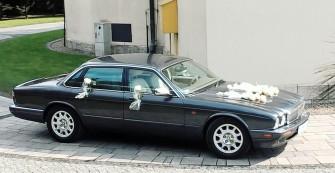 Auto do ślubu grafitowy JAGUAR XJ V8    Oświęcim