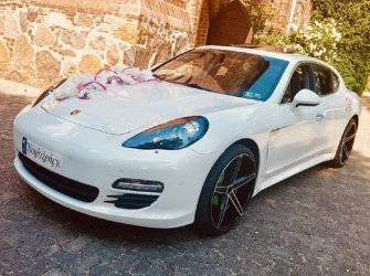 Auto do ślubu Porsche Panamera Szczecin