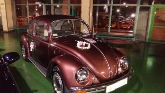Oryginalny ślub, oryginalne auto... przemęt