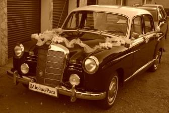 Auta do ślubu Gliwice - piękne Mercedesy Ponton oraz S-klasa