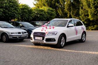 Audi Q5 SUV Białe Auto do Ślubu TANIO samochód na wesele  Częstochowa