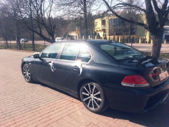 BMW E65 740D Exclusive Automobil Sokółka