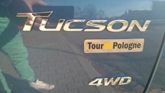 HYUNDAI TUCSON w wersji LIMITOWANEJ TOUR DE POLOGNE. TANIO!!! zabrze
