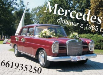 Mercedes Skrzydlak z 1965 roku do �lubu!!! Inowroc�aw