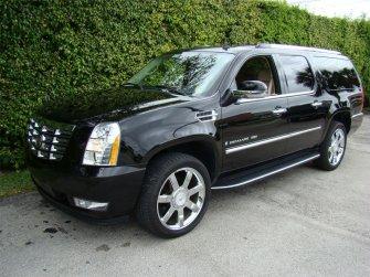 Cadillac Escallade ESV 6.2 czarny Olsztyn