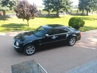 Chrysler 300C wynajem do ślubu, na wesele. Skierniewice i okolice
