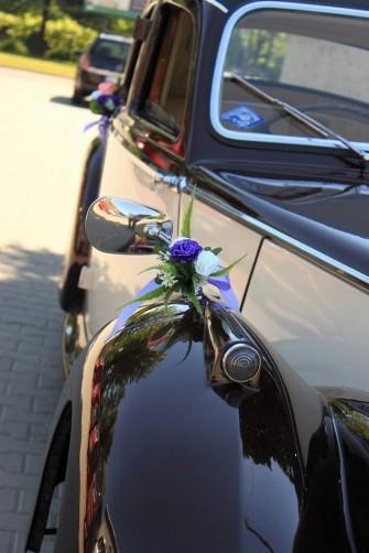 Koła Czasu przykład dekoracji samochodu Sosnowiec
