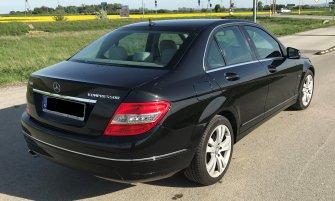 Mercedes klasy C do ślubu Żabno