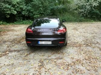 Porsche Panamera do ślubu- Wrocław