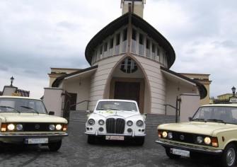 Fiat 125p do ślubu Białystok