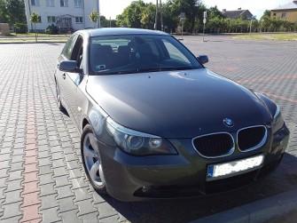 Zawiozę BMW e60 na ślub Biała Podlaska