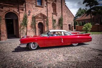 Auto Auta do Ślubu Samochód na Wesele Klasyk Mustang Retro Cadillac Poznań