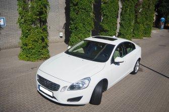 Lśniące Białe Volvo s60 II Białystok