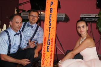 Zespół Muzyczny Prestige przed weselem Bydgoszcz