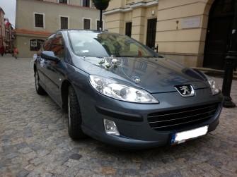 Luksusowy Peugeot 407 do ślubu Lublin