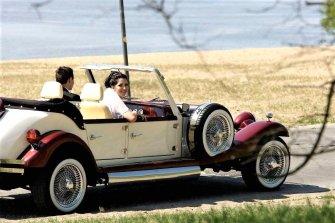 Kabriolet Alfa Romeo Spider / Nestor Baron Lubartów
