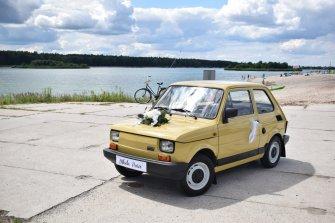 OldGear- Wynajem- Mercedes w114 / Fiat 126p Kluczbork