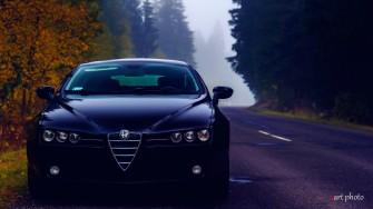 Alfa Romeo Brera do ślubu. Tarnowskie Góry