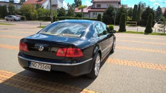 Auto do Ślubu VW PHAETON Olsztyn