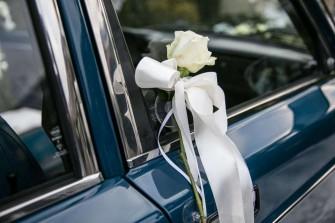 Volvo 244 do ślubu Bydgoszcz