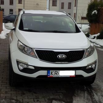 Kia Sportage biała perła od 300zł Kraków