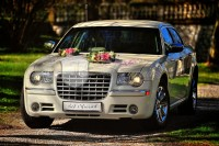 Just Married Chrysler 300c auto do ślubu wolne terminy 2017 !  Rzeszów