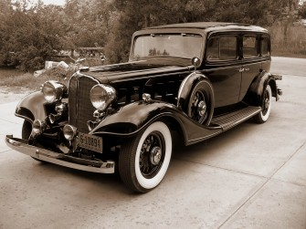 Buick 1933 limuzyna Warszawa