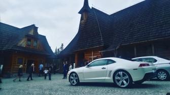 Auto do ślubu Chevrolet Camaro 2015 Biała Perła!Wynajmij i prowadź sam Nowy Sącz