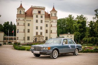 Klasyczna limuzyna mercedes S-class Poznań