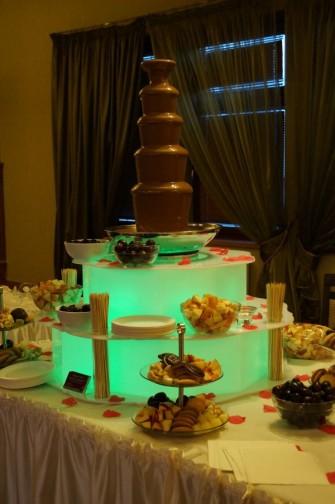 Fontanna czekoladowa Rzeszów, wynajem fontanny czekoladowej Rzeszów Łańcut