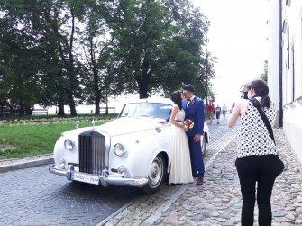 Rolls-Royce Silver Cloud I z 1957r. Warszawa