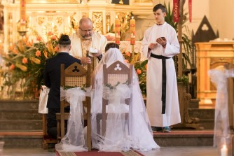 Ceremonia zaślubin IŁAWA