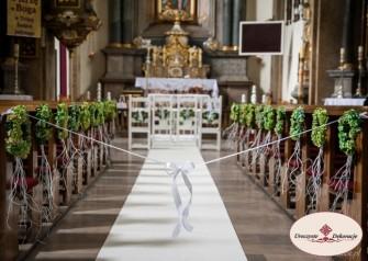 Dekoracje kościołów Ogrodzieniec