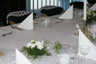 Stół weselny dla 20 osób Łeba