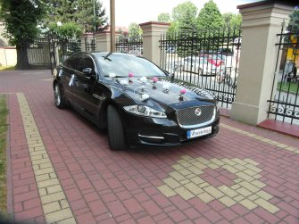 Samochód do ślubu Jaguar XJ Kraków