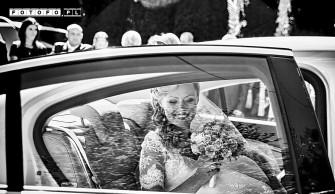 Czarno-białe zdjęcia ślubne Wieliczka