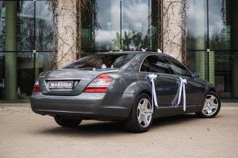 Mercedes KLASA S 500 WERSJA LONG Auto do ślubu dla fajnych ludzi Białystok