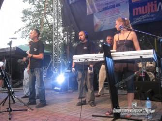 Zespół Muzyczny ,,impuls,, na scenie 2010 rok. w Chełmnie Mieście Zakochanych Chełmno