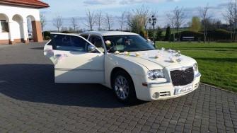 limuzyna do slubu Chrysler Inowrocław