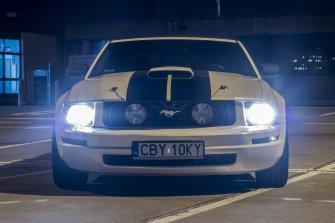 Mustang do ślubu Bydgoszcz