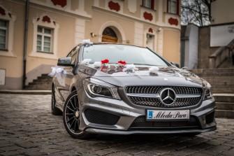 Mercedes CLA AMG do Ślubu wraz z Kierowcą Opole
