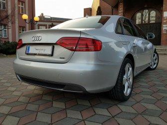 Samochód do ślubu piękne srebrne Audi limuzyna  Tarnowskie Góry
