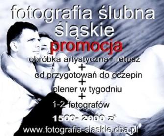 cennik fotografii ślubnej Sosnowiec, Jaworzno Katowice