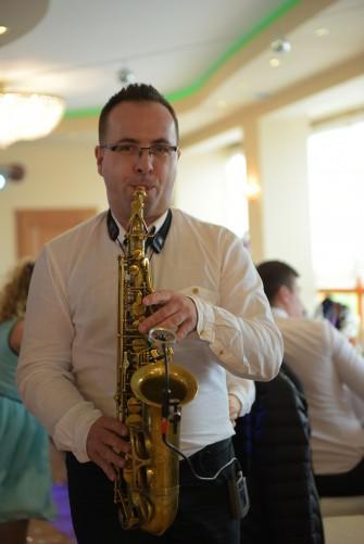 saksofon wesele Szczedrzyk
