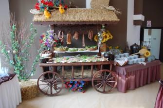 Stół wiejski na wesele Bielsk Podlaski
